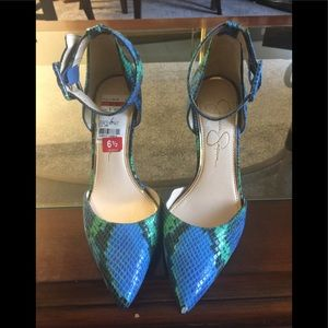 Jessica Simpson Snakeprint Heels